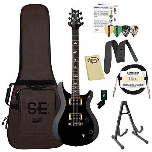 PAUME ST22BK-Kit01 PRS SE スタンダード 22 Black エレキギター エレキギター エレクトリックギター (並行輸入)