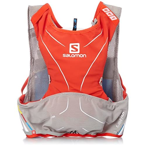 [サロモン] salomon S-LAB ADV SKIN3 5SET M/L L37572300 RACING RED/ALUMINIUM/White (レッド)