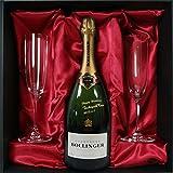 名入れ彫刻シャンパン ボランジェ スペシャル・キュヴェ 750ml &ペアシャンパングラス(リーデル) ギフト bollncr2