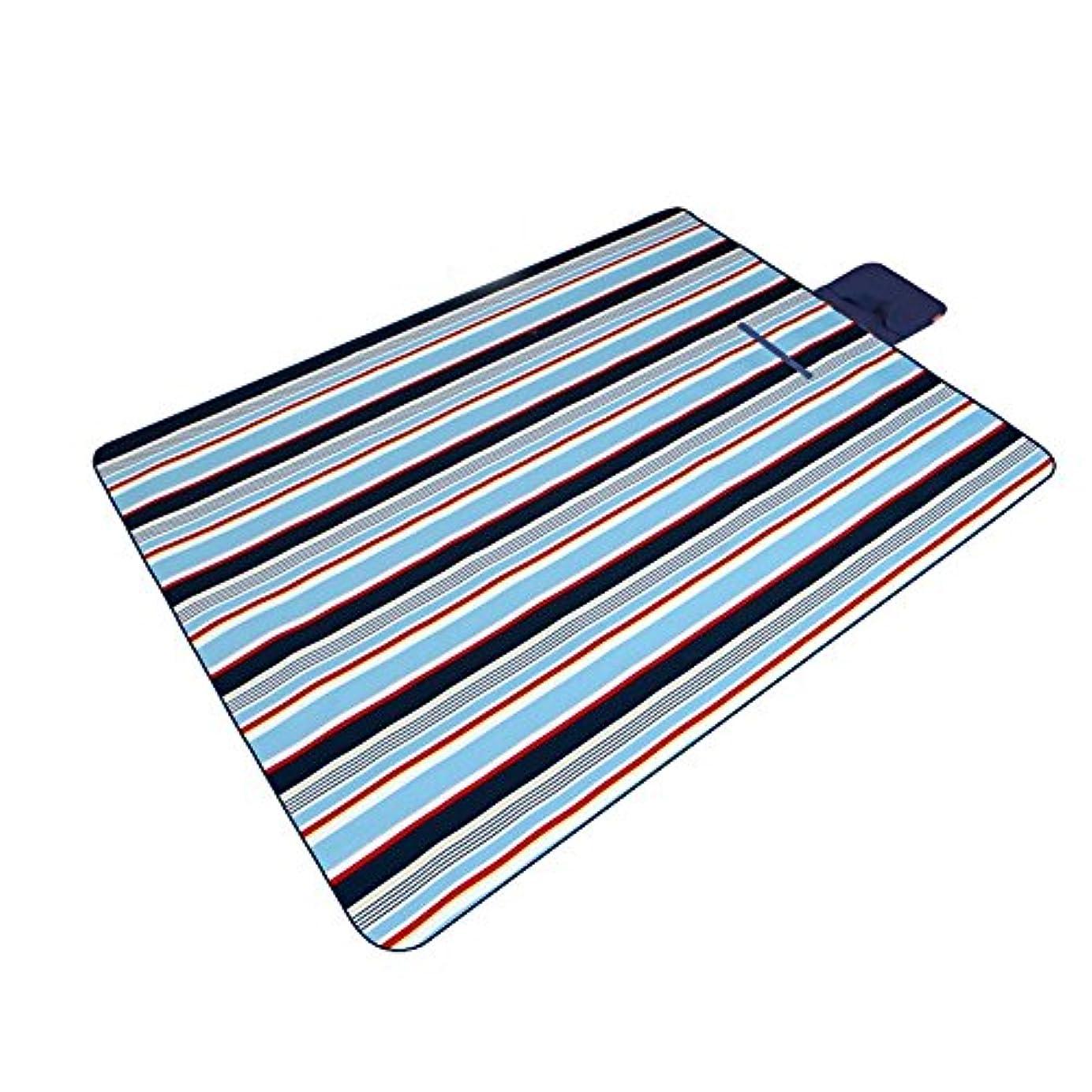 バイソン嵐おめでとう水分パッド/屋外オックスフォード布の水分パッド/リビングルームベビークロールマット(200 * 145センチメートル/ 2色) (色 : A)