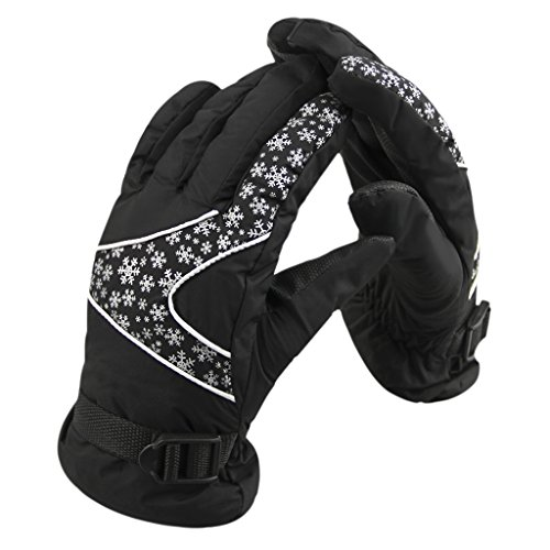 スキー手袋 レディース 防寒 防風 防水 冬用 クリスマス手袋 スノーグローブ スノボグローブ 超厚...