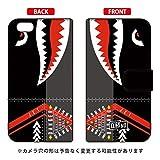 YESNO 手帳型スマートフォンケース シャーク ブラック / for iPhone 6s/Apple  3API6S-IJTC-401-N267