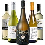 【Amazonワインエキスパート厳選】魚貝に合う辛口白ワイン飲み比べ750ml×5本セット [フランス/白ワイン/辛口/ミディアムボディ/5本]