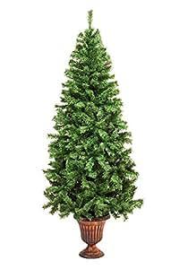 人形本舗 クリスマスツリー ラウンドポットツリー 組み立て式 180cm