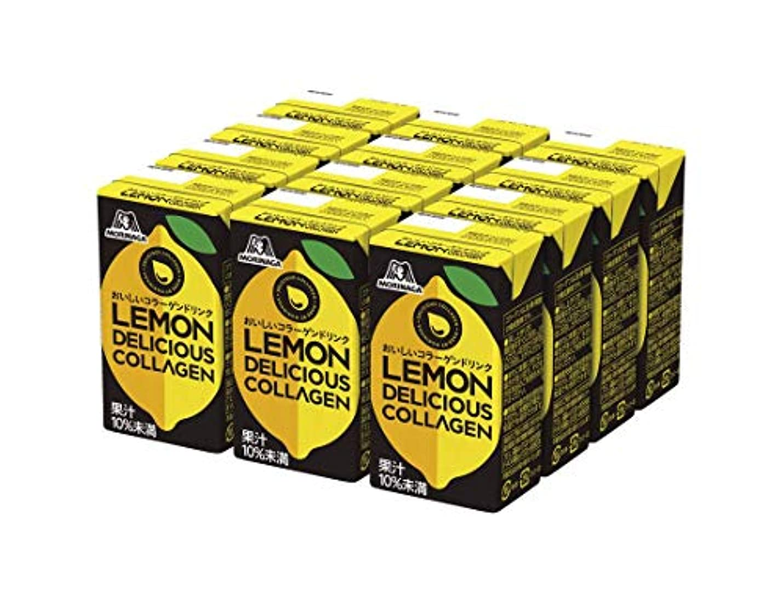フレット野な殺すおいしいコラーゲンドリンク レモン メンズ 12本 コラーゲン10000mg レモン