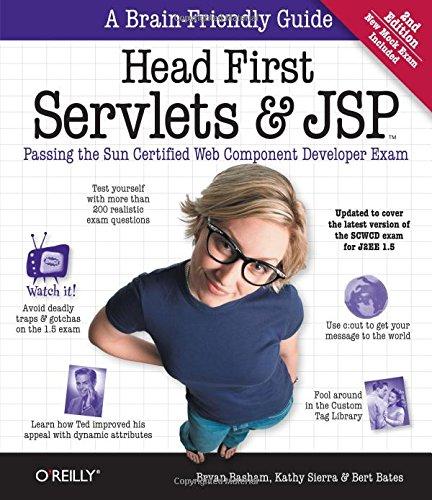 Download Head First Servlets and JSP: Passing the Sun Certified Web Component Developer Exam 0596516681