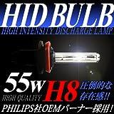IMPRESSION HID H8 55W キセノン XENON HIDバーナー 3000K イエロー 黄色
