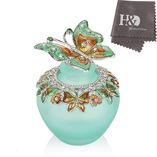 Hyaline & Dora 高品質 美しい香水瓶 40ML アロマボトル 詰替用ボトル 空き