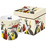 Paperproducts Design 603193 Woody's Party Gift Boxed Mug, 13.5 oz, Multicolor