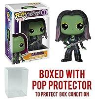 Funko POP 。Marvel : Guardians of the Galaxy–Gamora Vinyl Figure (バンドルwith Popボックスプロテクターケース)