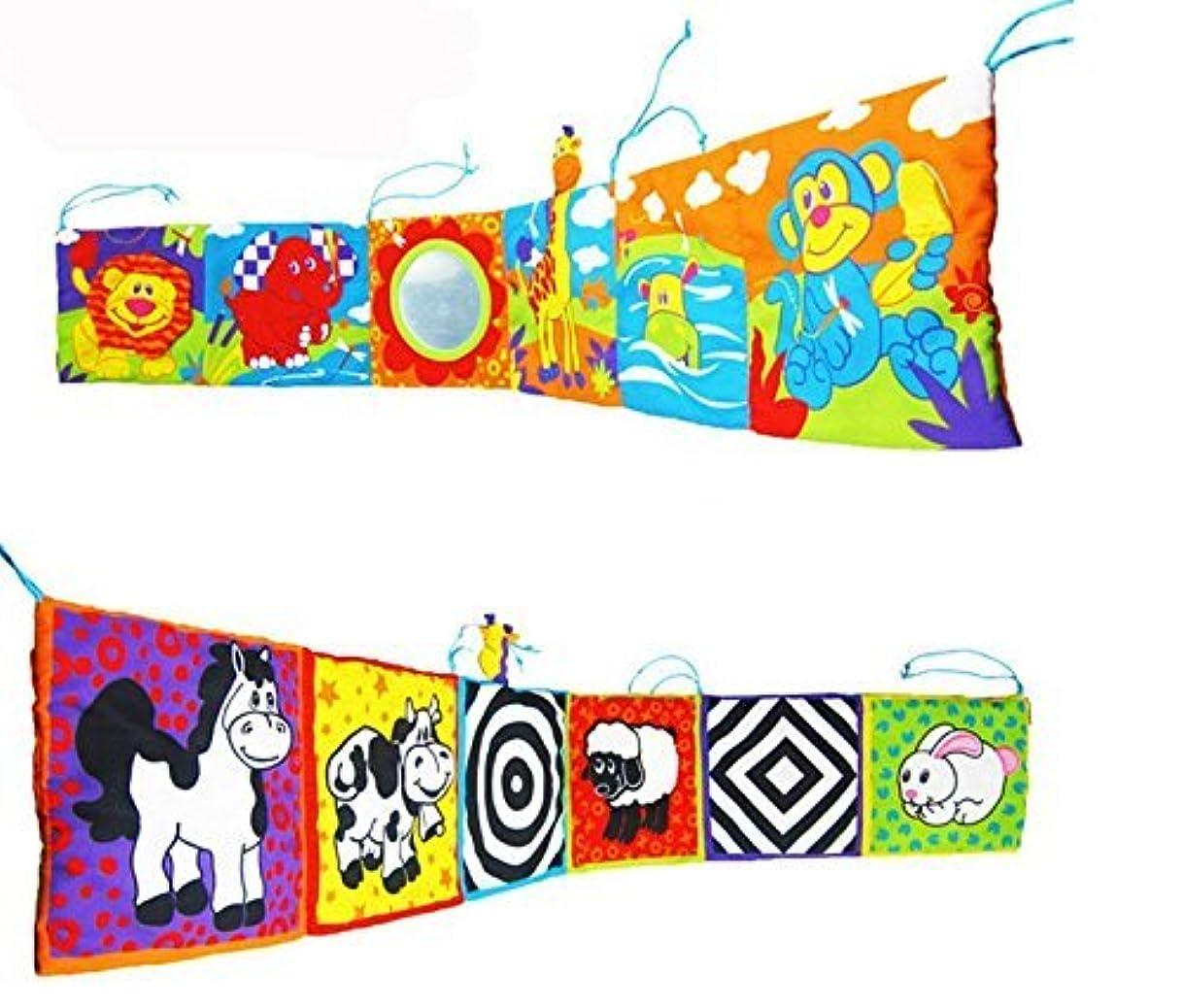 ハイキングに行く余分な別々にEdealing 1PCS Kid Animal Cloth Book Infant Baby Intelligence Development Toy Bed Cognize Books by edealing