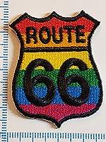 ワッペン アイロン ルート66 ROUTE66