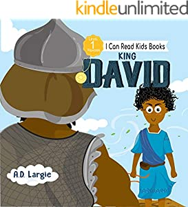 King David For Kids : I can read books level 1 (I Can Read Kids Books Book 16) (English Edition)