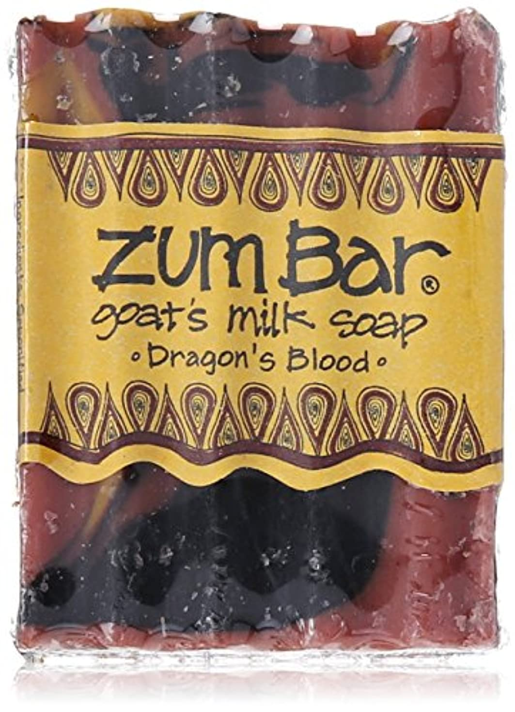 コイルスカルク濃度海外直送品 Indigo Wild, Zum Bar, Goat's ミルク ソープ ドラゴン ブラッド , 3 Ounces (2個セット) (Dragon's Blood) [並行輸入品]