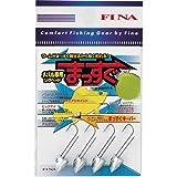 ハヤブサ(Hayabusa) FINA メバル専用ジグヘッド まっすぐ #10/1g FS200-10-1