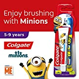 Colgate Kids Minion Toothbrush + Toothpaste Valuepack, 5-9 Years, Ultra Soft, 1ct