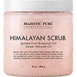 Himalayan Salt Body Scrub with Lychee Essential Oil 10 oz 283g ヒマラヤンソルトスクラブ ライチオイル