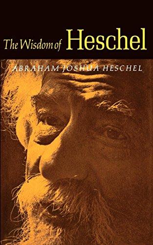 Download WISDOM OF HESCHEL 0374513732