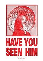 パウエル・ペラルタ ハブユーシーンヒム ステッカー(レッド)【POWELL PERALTA Have You Seen Him Sticker(Red)】スケートボード デカール [並行輸入品]