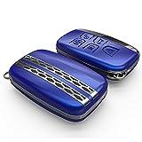 [NextBlue] ランドローバー レンジローバー 専用 スマートキーケース リモコン キーカバー (ブルー)