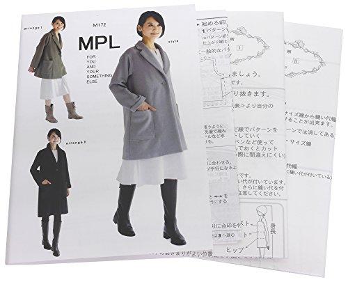 型紙・パターン MPL チェスターコート M172...