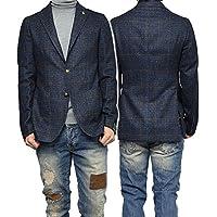 (タリアトーレ)TAGLIATORE メンズシングル2Bジャケット MONTECARLO / 1SMC22K 07WIK123 ネイビー×ブラウン [並行輸入品]