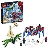 LEGO Marvel Spider-Man: Spider-Man's Spider Crawler 76114 Building Kit (418 Piece)