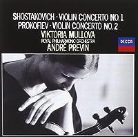 Viktoria Mullova / Previn & Rpo - Shostakovich: Violin Concerto No.1 / Prokofiev: Violin Concerto No.2 [Japan CD] UCCD-5139 by Viktoria Mullova / Previn & Rpo (2010-11-10)