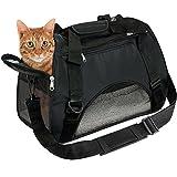 EVELTEK ペット用 キャリーバッグ 3way ショルダー 猫・小型犬用 キャリーバック 愛犬と旅行にぴったり ( ペット用マット付き)