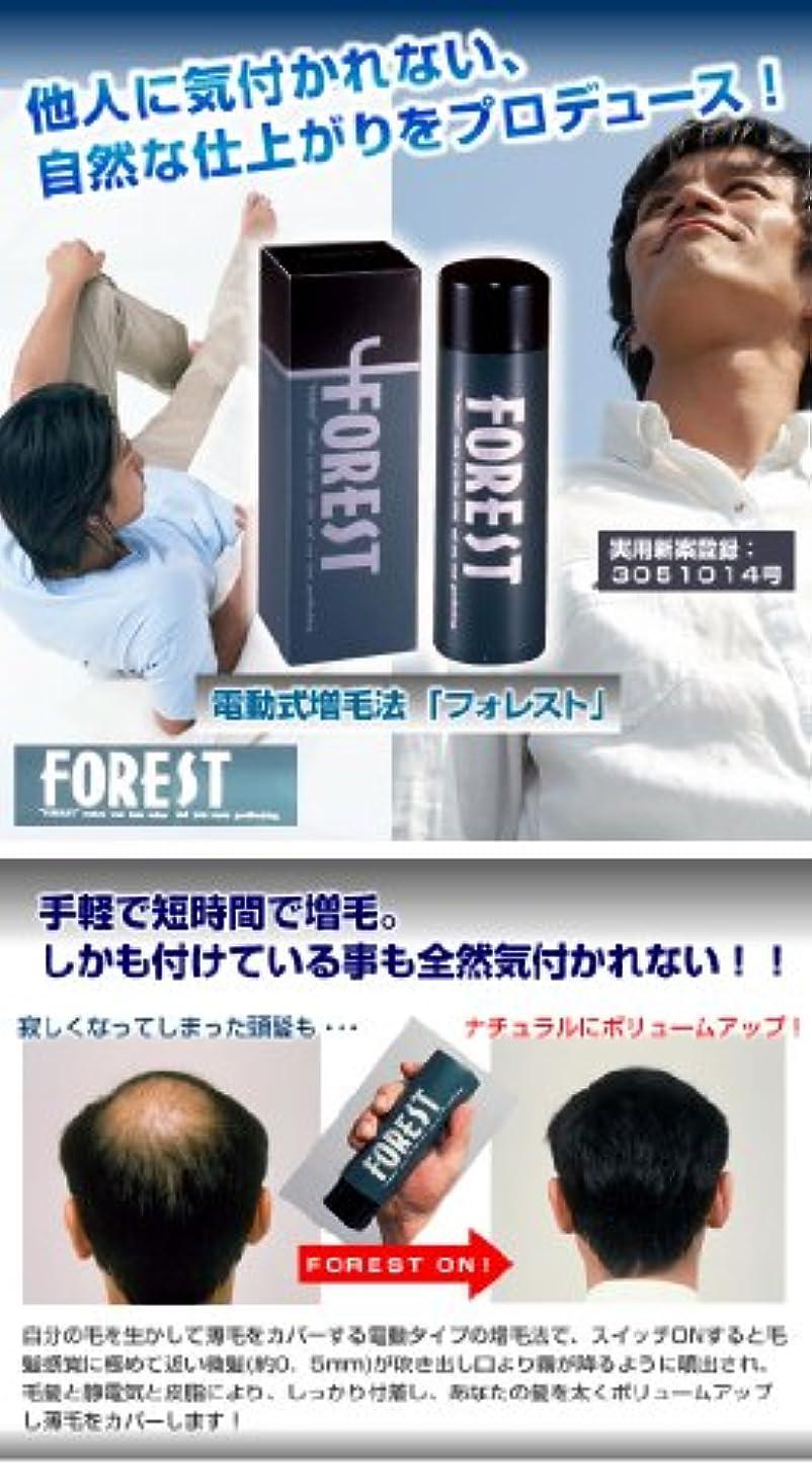 野球マークダウン職業電動式増毛法「フォレスト」 ブラック