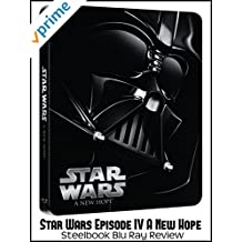 Review: Star Wars Episode IV A New Hope Steelbook Blu Ray Review