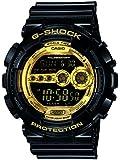 カシオ Gショック CASIO 並行輸入品 G-SHOCK GD-100GB-1DR Black×Gold Series 腕時計 海外モデル ブラック×ゴ...