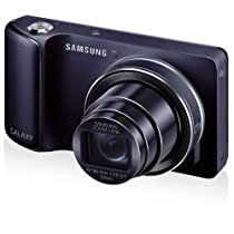 "Samsung Galaxy Camera GC110 with Android Jelly Bean v4.2 OS, 16.3MP CMOS with 21x Optical Zoom and 4.8"" Touch Screen LCD (Cobalt Black)"