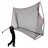 LAKARU(ラカル)ゴルフネット ゴルフ練習ネット 大型 スイング練習 網 300*213*91cm 折り畳み式 室内 屋外 収納袋 説明書付属