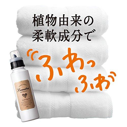 『ランドリン ボタニカル 柔軟剤 リラックスグリーンティーの香り 500ml』の7枚目の画像
