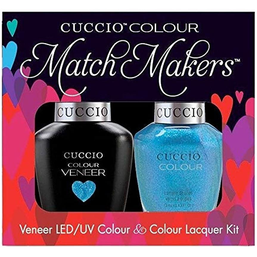 センチメートル分子懐疑論Cuccio MatchMakers Veneer & Lacquer - Roller Skate! - 0.43oz / 13ml Each