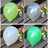 FidgetGear Wholesale 100pcs Latex Helium Thickening Round Wedding Party Birthday Balloon Gray 100 Pcs