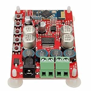 ELEGIANTBluetoothのオーディオ・レシーバCSR4.0 デジタルアンプボード 50W+50W TDA7492P