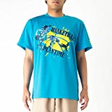 MIZUNO(ミズノ)プラクティスシャツ バスケットボールTシャツ ディズニー トイストーリー W2MA7005 23ターコイズ S