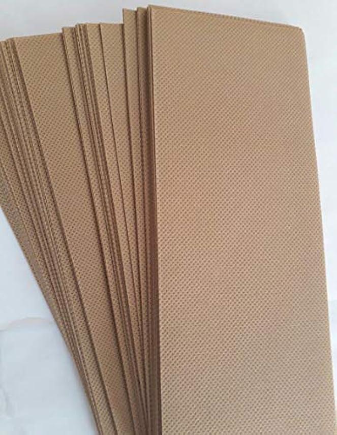 石炭ベジタリアンタンパク質90 Wax Strips pieces Disposable Hair Removal Professional Wax Strip Epilator Paper Waxing Kits ワックスストリップ作品使い捨て...