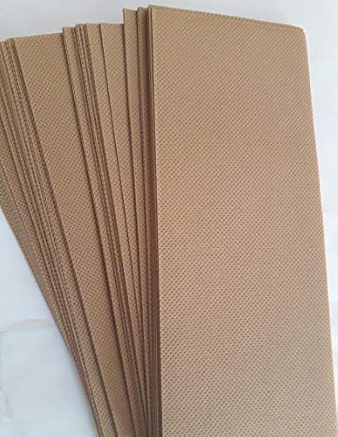 ライトニングズボン火山学者90 Wax Strips pieces Disposable Hair Removal Professional Wax Strip Epilator Paper Waxing Kits ワックスストリップ作品使い捨て...