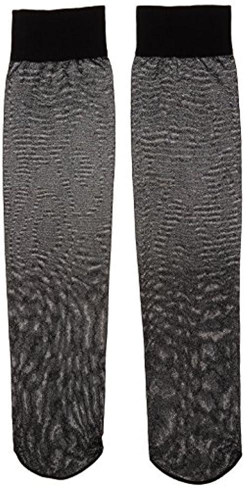 美的サイトライン半球カロリーオフ 段階式着圧ハイソックス ブラック 22-25cm