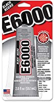 Eclectic製品e6000クラフト粘着–2fl oz 6 Pack 237039-6pk