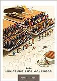 MINIATURE LIFE CALENDAR 2020年カレンダー CL-0476