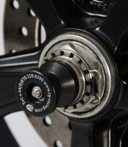 R&G(アールアンドジー) スピンドルスライダー ブラック MONSTER S4/S4R/S4RS 916MONOPOSTO/BIPOSTO/S 996R(-01) 998/998S/998R HYPERMOTARD1100/S/EVO  748MONOPOSTO/BIPOSTO/S RG-SS0006BK