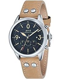 アビエイト 腕時計 英国ブランド ホーカーオマージュ腕時計 クロノグラフ AV-4024-02 [並行輸入品]