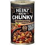 Heinz Big 'N Chunky Peppered Steak Canned Soup, 535g