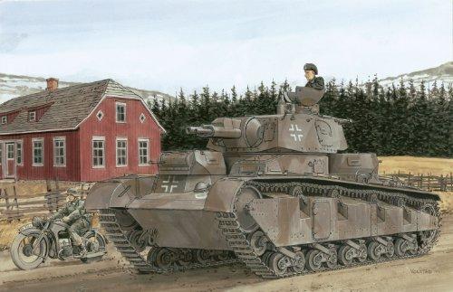 1/72 ノイバウファールツォイク多砲塔戦車 (3-5号車)