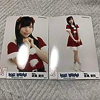 NGT48 宮島亜弥 ヴィレッジヴァンガード 生写真 2種コンプ サンタ
