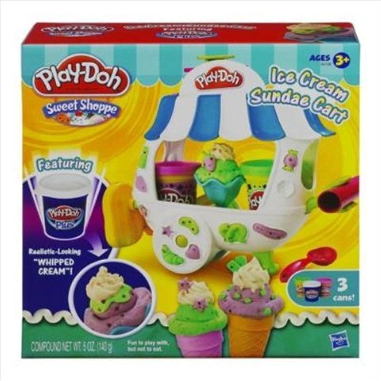Play-Doh Ice Cream Sundae Cart Playset [並行輸入品]